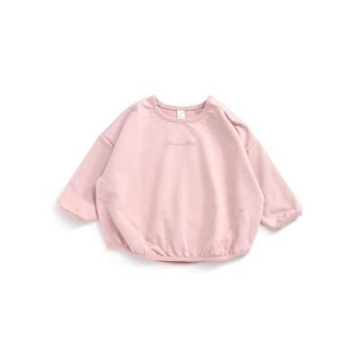 【apres les cours アプレ レ クール】ちびロゴルーズTシャツ (ブラウス)Kids' Blouses, Shirts