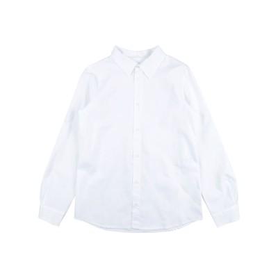 TOURISTE シャツ ホワイト 14 コットン 97% / ポリウレタン 3% シャツ