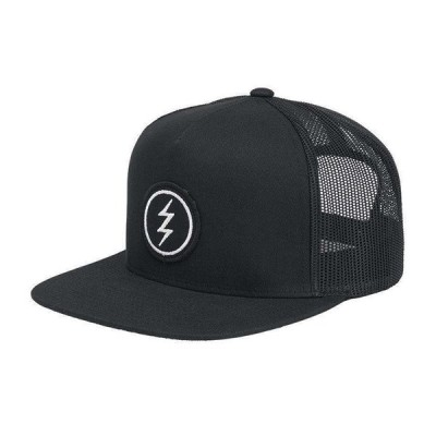 ELECTRIC エレクトリック メンズ メッシュキャップ 帽子 ED5541709 Volt Patch Trucker Hat [BLK]