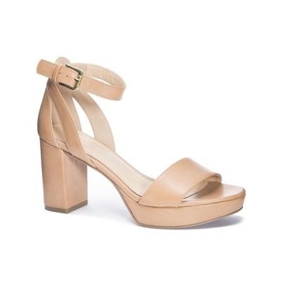 チャイニーズランドリー サンダル シューズ レディース Gilmore Platform Dress Sandals Dark Nude