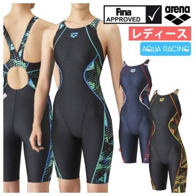 競泳水着 レディース FINA承認 アリーナ arena アクアレーシング セイフリーバックスパッツ 着やストラップ ARN-1075W 21fw