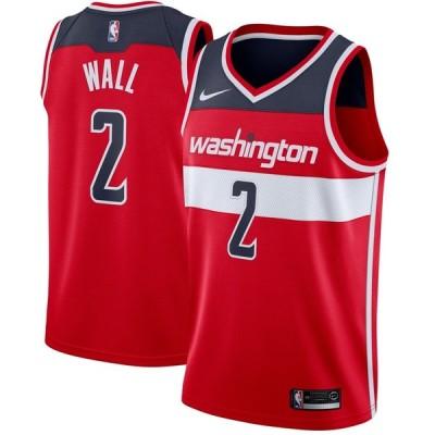 John Wall ワシントン・ウィザーズ Nike Swingman ユニフォーム Red - Icon Edition