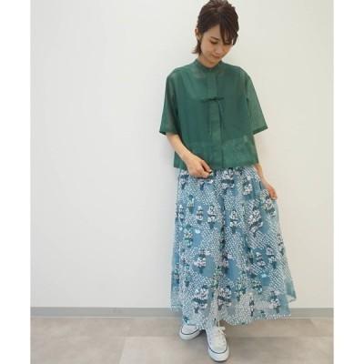 スカート ポプラの綿毛【スカート】