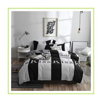 qjbh1 Printed Bedspread Cover Quilt Cover Sheet and Pillowcase Bedspread (Color : 2TJ 61075 043, Size : Queen 4pcs 200x230cm)【並行輸入
