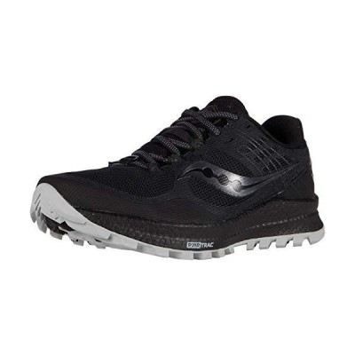 Saucony Women's Xodus 10 Walking Shoe, Black, 8 M US【並行輸入品】