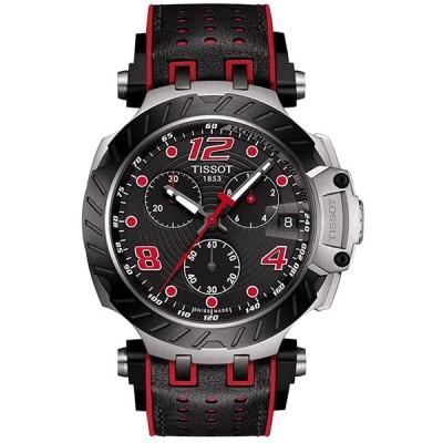 腕時計 ティソ メンズ T1154172705704 Tissot Men's T-Race Moto GP 316L Stainless Steel case with Black