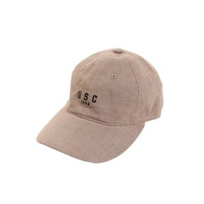 ACPG(ACPG) リネン刺繍 USC キャップ 897PA9ST1672 BRN (Men's)