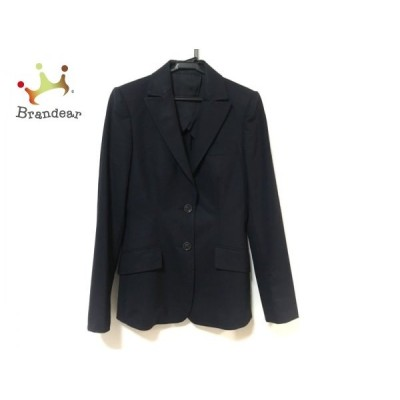 バーバリーブラックレーベル Burberry Black Label ジャケット サイズ40 M レディース 黒 新着 20200505
