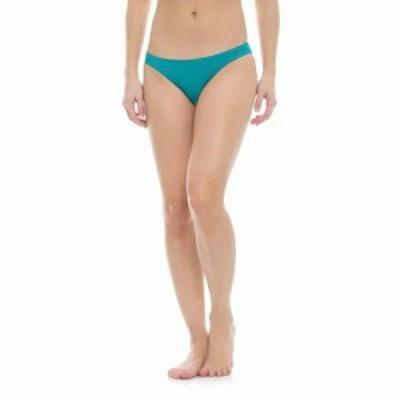 ロキシー ボトムのみ Sunset Paradise Braided Bikini Bottoms Dark Jade