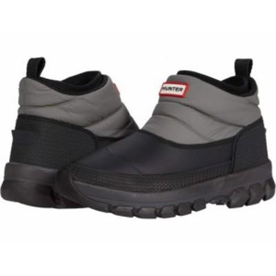 HUNTER ハンター レディース 女性用 シューズ 靴 ブーツ スノーブーツ Original Insulated Snow Ankle Boot Mere/Black【送料無料】