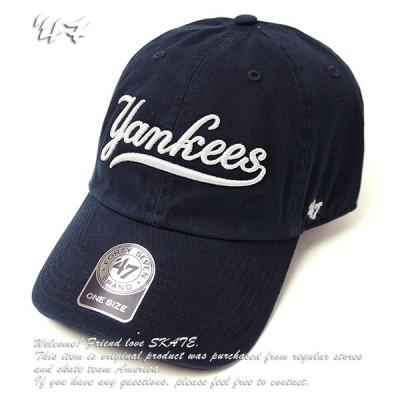 '47 ベースボールキャップ 帽子 キャップ フォーティセブン Yankees SCRIPT '47 UP MLB スケボー SKATE SK8 スケート HIPHOP ヒップホップ SURF サーフ レゲエ
