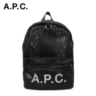 アーペーセー A.P.C.  REBOUND メッシュ バックパック【LZZ (NOIR/ブラック)】 M62144 PSAEU LZZ (NOIR)/【2021SS】m-bag
