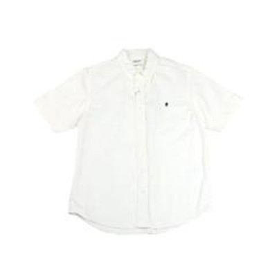 ジムフレックスジムフレックス 半袖シャツ ボタンダウンシャツ Gymphlex J-1421YOX L(メンズL) WHITE(WHT)