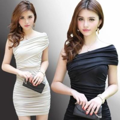 レディース ワンピース ドレス キャバドレス トップス ミニドレス キャバ嬢 スリムタイプ タイ
