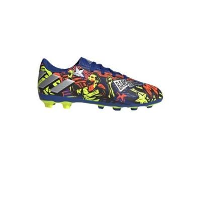 アディダス(adidas)ジュニアサッカースパイク ファームグラウンド用 ネメシス メッシ 19.4 AI1 J FG EH0598 サッカーシューズ