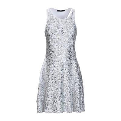 PHILIPP PLEIN ミニワンピース&ドレス ホワイト S 70% レーヨン 22% ポリエステル 8% ポリウレタン ミニワンピース&ドレス