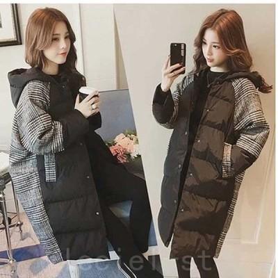 2021新作中綿コート レディース 女性 女の子 アウター ライトアウター ふっくら あったか 温かい
