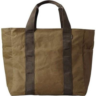 フィルソン メンズ トートバッグ バッグ Filson Large Grab N Go Tote Bag Dark Tan / Brown