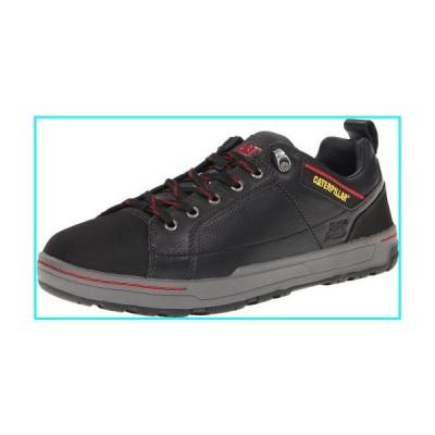 Caterpillar Men's Brode Steel Toe Work Shoe,Black Leather,10 M US