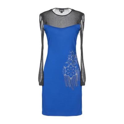 ジャストカヴァリ JUST CAVALLI ミニワンピース&ドレス ブライトブルー 40 レーヨン 92% / ポリウレタン 8% / ナイロン /