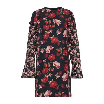 MOTHER OF PEARL ミニワンピース&ドレス ブラック 8 シルク 100% / ポリエステル ミニワンピース&ドレス