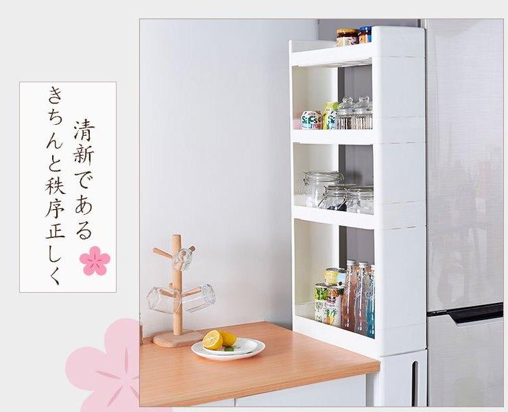 【現貨免運】日式加高款抽屜式隙縫收納櫃置物櫃