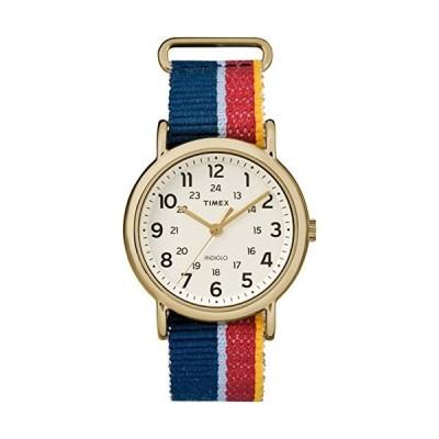 腕時計 タイメックス レディース TW2R10100 Timex Unisex TW2R101009J Weekender Multicolor Denim Sli
