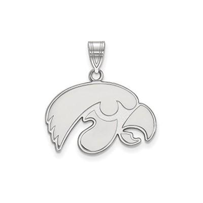 Iowa Medium (5/8 Inch) ペンダント (Sterling Silver)(海外取寄せ品)