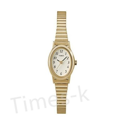 Timex Women's T21872 Cavatina Gold-Tone Stainless Steel Expansion Band Watc