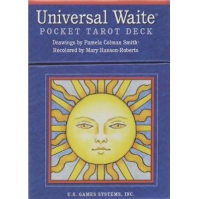 US Games Systems 正規販売店 ユニバーサル ウェイト ポケット タロット Universal Waite Pocket Tarot Deck [カード] タロットカード タ