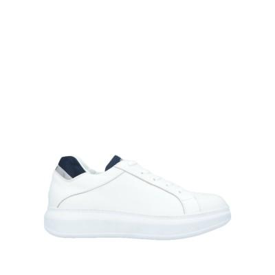 ROBERTO BOTTICELLI スニーカー&テニスシューズ(ローカット) ホワイト 41 革 / 紡績繊維 スニーカー&テニスシューズ(ローカ