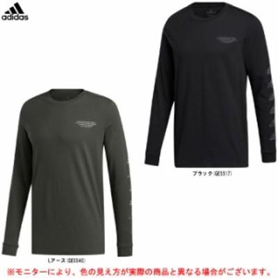 adidas(アディダス)ユニバーサル カモ 長袖グラフィックTシャツ(IWY53)スポーツ トレーニング カジュアル 長袖 ロンT メンズ