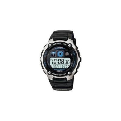 カシオ スポーツウォッチ 20気圧防水 メンズ デジタル 腕時計 (AE-2000W-1AJF海外版) ストップウォッチ タイマー LEDライト付き CASIO マラソン ランニング 時計