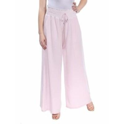 Free People フリーピープル ファッション パンツ Free People Womens Pants Pink Size Small S Wide Leg Drawstring Stretch