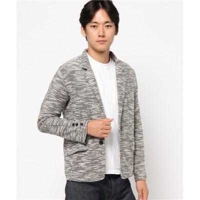 ARCADE / スラブ裏毛テーラードジャケ ット MEN ジャケット/アウター > テーラードジャケット