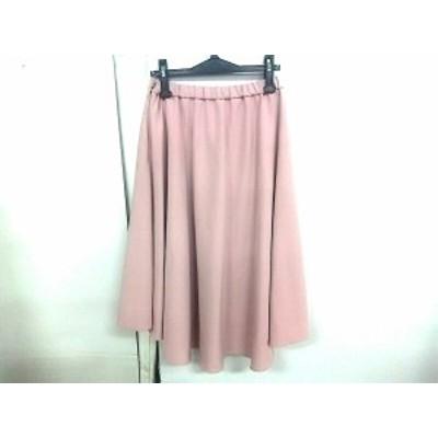 ラグナムーン LagunaMoon ロングスカート サイズM レディース 美品 ピンク【中古】20200709
