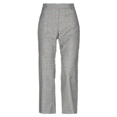 トゥルー ロイヤル TRUE ROYAL パンツ グレー 40 バージンウール 93% / シルク 6% / ポリウレタン 1% パンツ