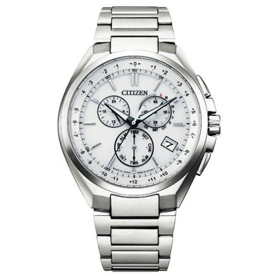 シチズン 腕時計 アテッサ CB5040-80A ATTESA エコ・ドライブ電波時計 ダイレクトフライト ホワイトダイヤル メンズ 新品 国内正規品 CITIZEN