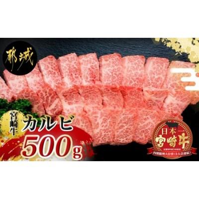 宮崎牛カルビ500g_MJ-4205