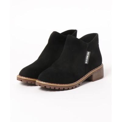 STYLEBLOCK / スエード調サイドジップショートブーツ WOMEN シューズ > ブーツ