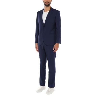 VITALE BARBERIS CANONICO スーツ ダークブルー 54 スーパー120 ウール 100% スーツ