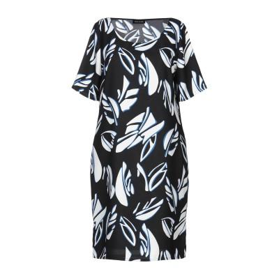 ディアナ ガッレージ DIANA GALLESI ミニワンピース&ドレス ブラック 42 ポリエステル 100% ミニワンピース&ドレス