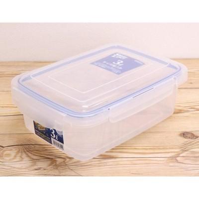 岩崎 食品保存容器 ナチュラル 3.0L ロック式キーパー SLジャンボケース B-2891N