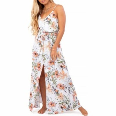 リップカール RIP CURL レディース ワンピース マキシ丈 ワンピース・ドレス Playa Blanca Maxi Dress White