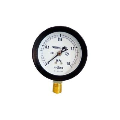 一般圧力計A形Φ75(簡易防滴型) TOKO(東洋計器興業) BL-AT3/8G 75×1.6MPa(簡易防滴形)