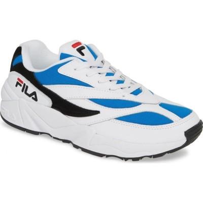フィラ FILA メンズ スニーカー シューズ・靴 V94M Sneaker White/Blue/Black