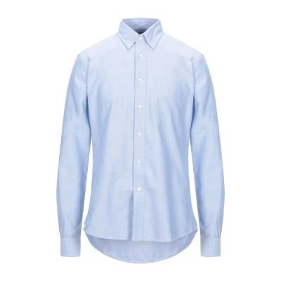 アスペジ ASPESI シャツ スカイブルー 42 コットン 100% シャツ