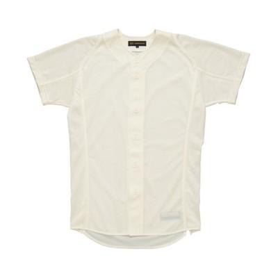 (ZETT/ゼット)プロステイタスユニフォームシャツ/ユニセックス アイボリー