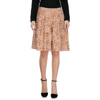 リビアナ コンティ LIVIANA CONTI ひざ丈スカート ピンク 44 コットン 80% / ナイロン 20% ひざ丈スカート