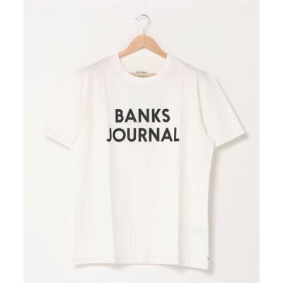 tシャツ Tシャツ 【 BANKS JOURNAL / バンクスジャーナル 】PK JOURNAL TEE SHIRT SMTS0066